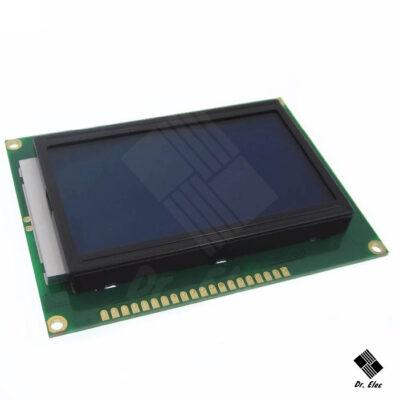 LCD 128*64 آبی